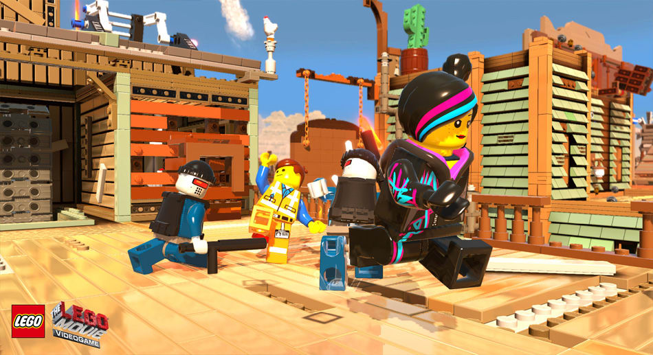 The LEGO Movie Videogame Screenshot 01