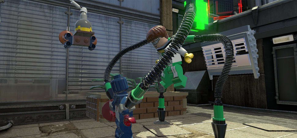 LEGO Marvel Super Heores review for Xbox 360, PlayStation 3, PC and Wii U at GAME