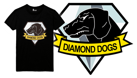 Metal Gear Solid V: The Phantom Pain T-Shirts