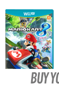 Mario Kart 8 with Super Mario Kart Racing Wheel (Wii U)