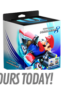 Mario Kart 8 Limited Edition with Super Mario Kart Racing Wheel (Wii U)