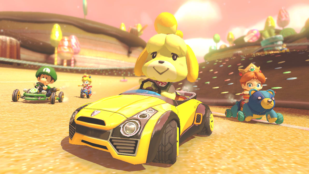 Mario Kart 8 Deluxe Screenshot