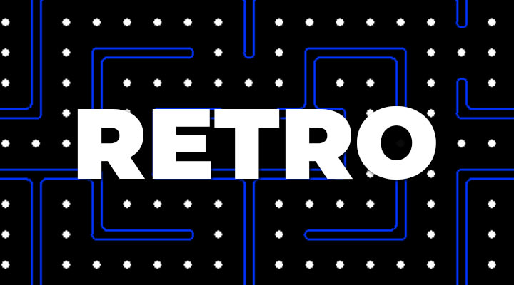 retro merchandise and consoles