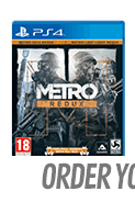 METRO REDUX for PlayStation 4
