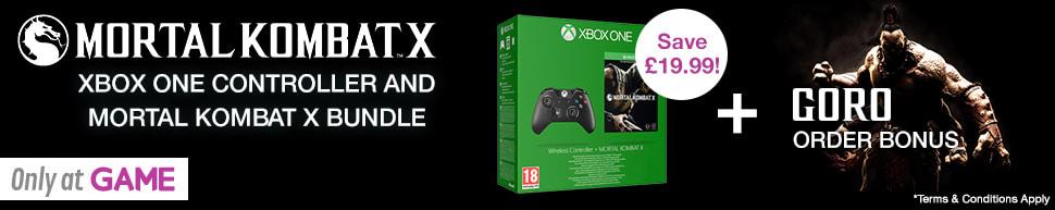 Mortal Kombat X XB1 Controller Bundle