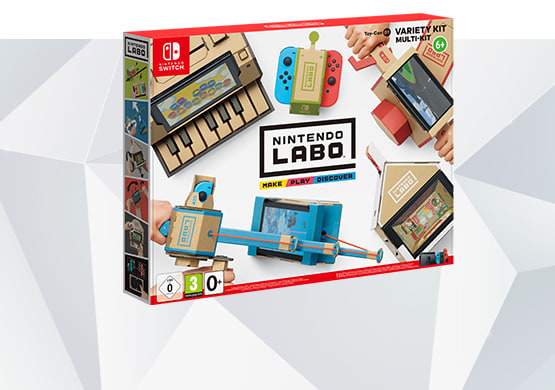 Nintendo LABO Toy Con 1 Variety Pack