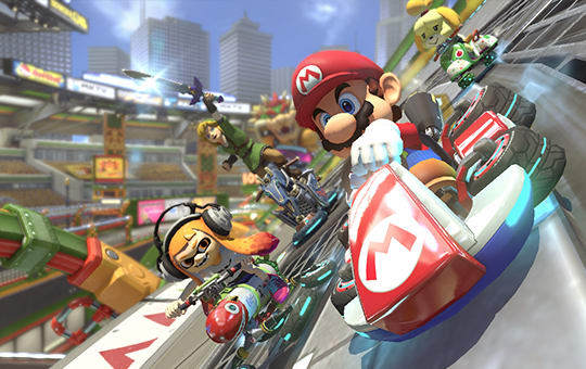Mario Kart 8 - racing