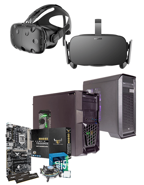 Virtual Reality ready PCs - Buy Now at GAME.co.uk!