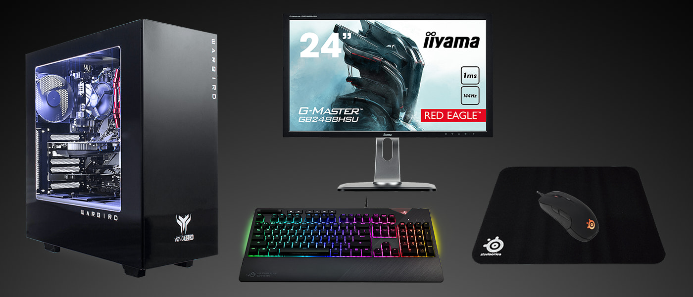 What gaming PC should I buy? What PC monitor should I get? What gaming keyboard is best? It's hard to know where to start when you start PC gaming and ...