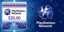 £25 PlayStation Network Wallet Top Up