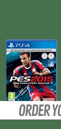 Pro Evolution Soccer 2015 Day 1 Edition