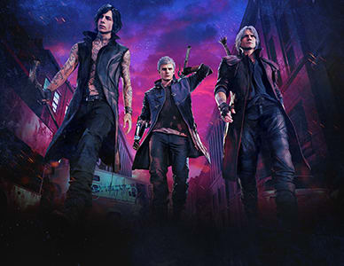Out in March - Devil May Cry 5