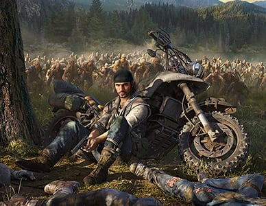Out in April - Days Gone
