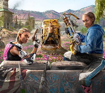 Out in February - Far Cry New Dawn