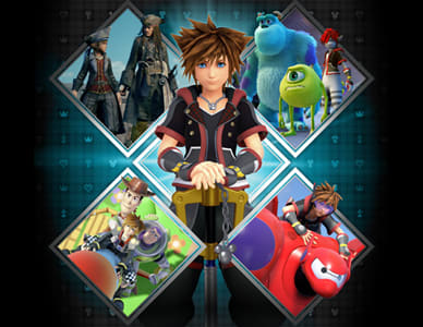 Out in January - Kingdom Hearts 3