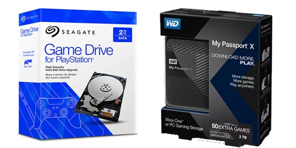 PlayStation Hard Drives