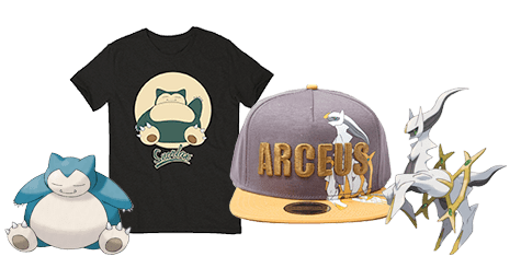 Arceus Merchandise Only at GAME.co.uk
