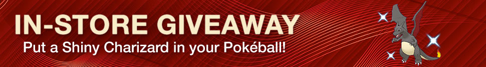 Pokémon Omega Ruby and Alpha Sapphire - In-store Giveaway