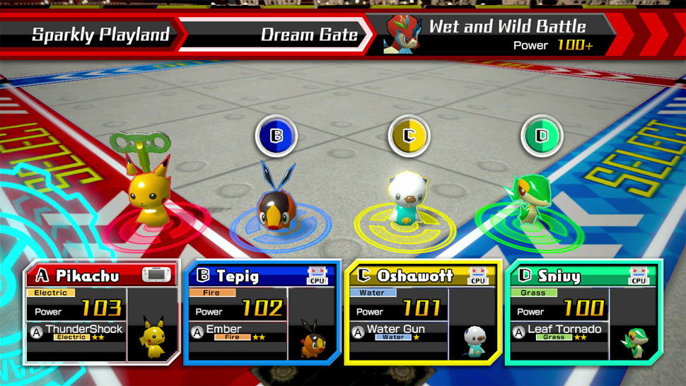 Pokémon Rumble U screenshot 01