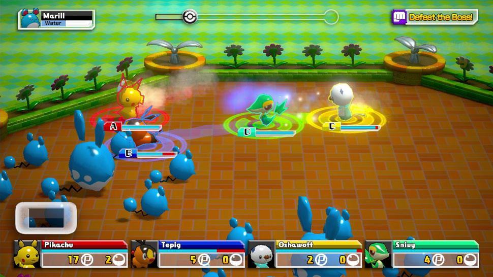 Pokémon Rumble U screenshot 03