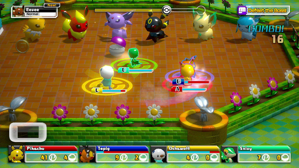 Pokémon Rumble U screenshot 04