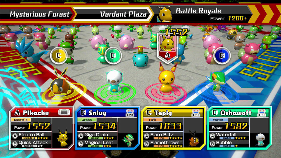 Pokémon Rumble U screenshot 07