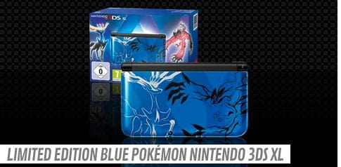 Limited Edition Pokémon Nintendo 3DS XL - Blue