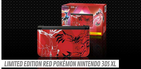Limited Edition Pokémon Nintendo 3DS XL - Red