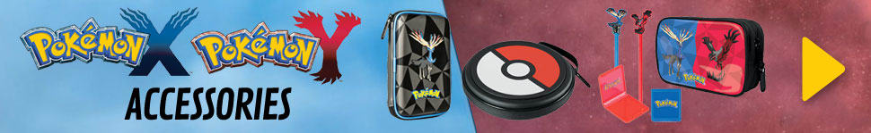 Pokémon X and Pokémon Y: Accessories