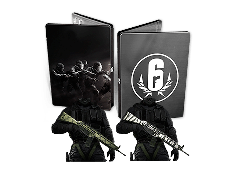 Tom Clancy's Rainbow Six: Siege Steel book - Only at Game