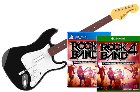 GAME - Rock Band 4