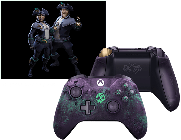 xbox one s wireless controller sea of thieves limited edition
