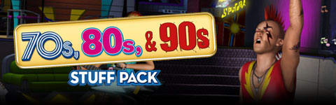The Sims 3: 70's, 80's & 90's Stuff Pack