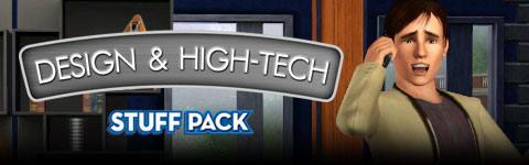 The Sims 3: Design & High-Tech Stuff Pac