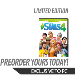 Sims 4 GAME Exclusive Collector's Edition (PC)