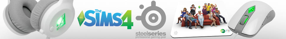 Steel Series The Sims 4 Offical Accessories
