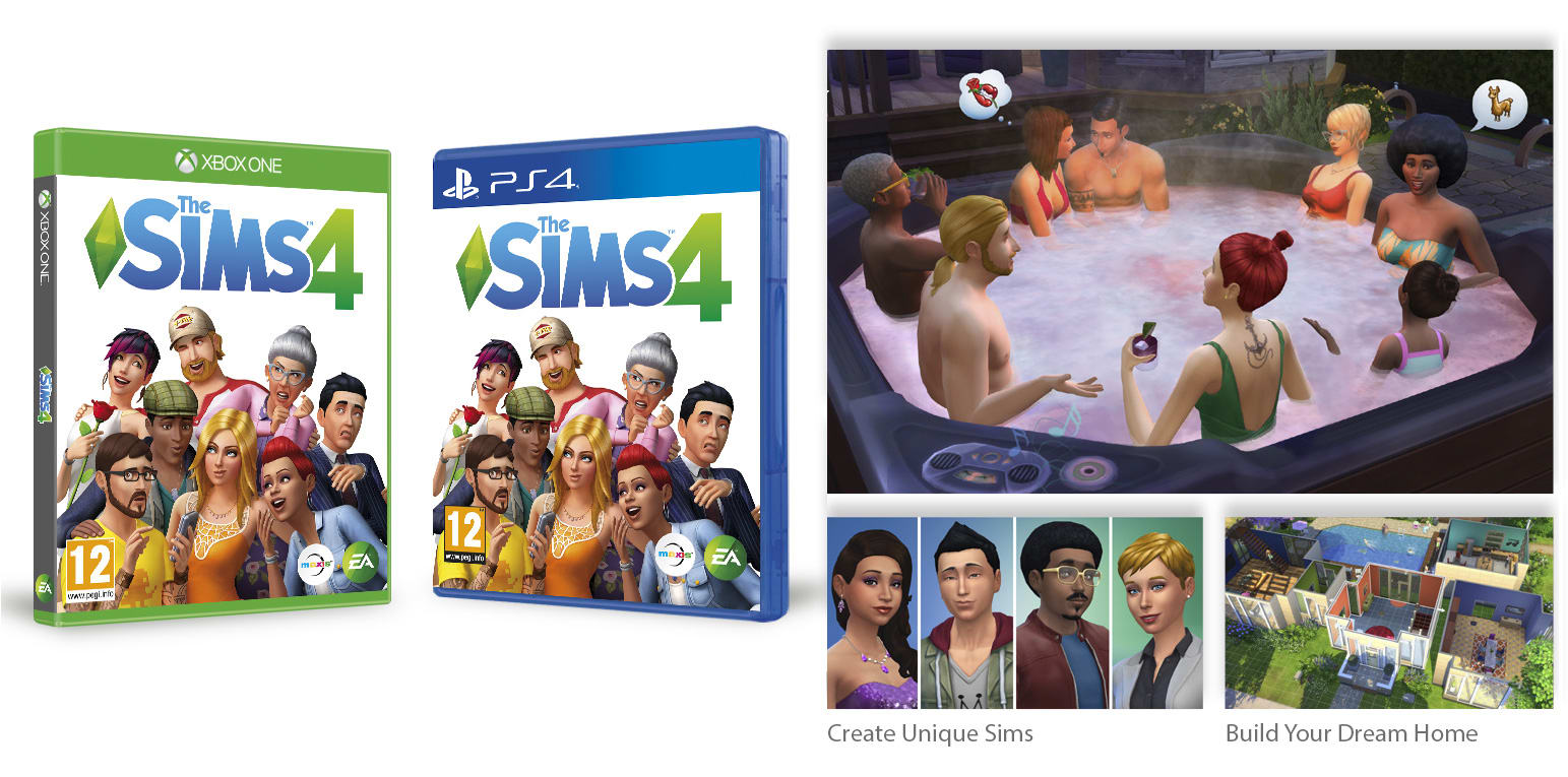 GAME - The Sims 4