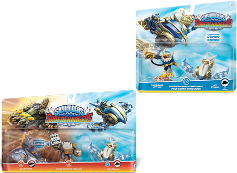 Skylanders SuperChargers Triple Pack and Combo Packs
