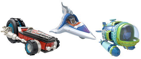 Skylanders SuperChargers Vehicles