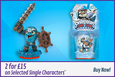Skylanders Trap Team 2 for £15 single characters