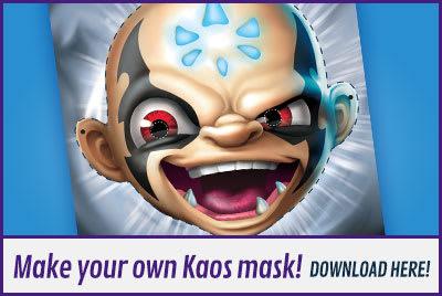 Skylanders KAOS Mask