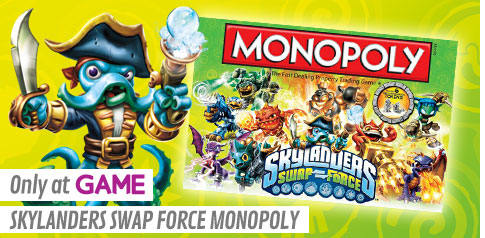 GAME Exclusive Skylanders SWAP Force Monopoly
