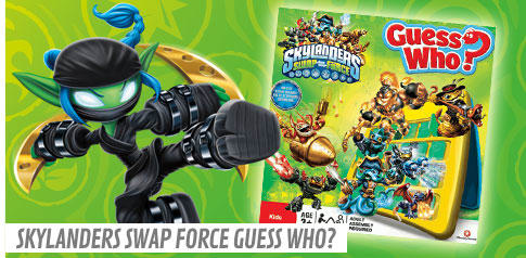 Skylanders SWAP Force Guess Who?