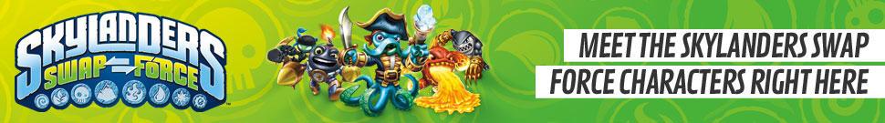 Skylanders Characters
