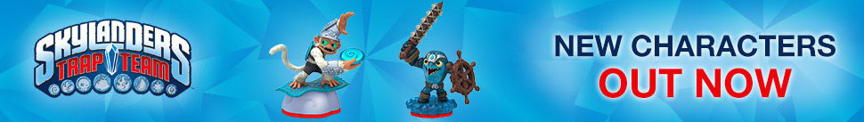 Skylanders Trap Team New Characters