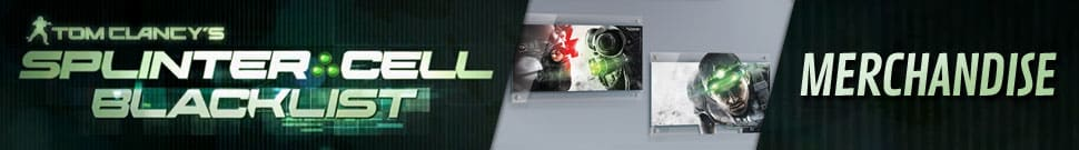 Splinter Cell: Blacklist Merchandise