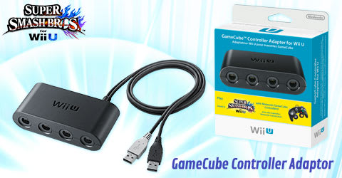 Game Cube Controller Adaptor For Wii U