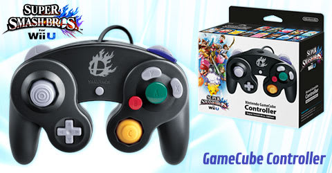 Official Super Smash Bros. Game Cube Controller