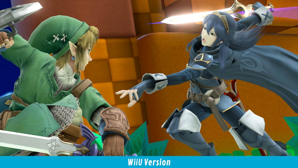 Super Smash Bros - WiiU screenshot 03