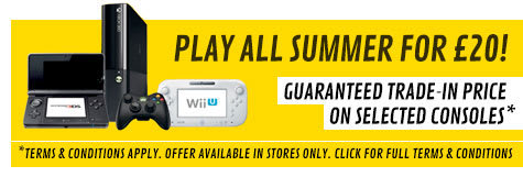 Preowned Trade In Offer - Play All Summer For £20!